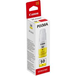CANON Druckertinte GI-50Y gelb