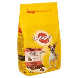 Pedigree Adult Mini Rind Hundefutter 2 x 1.4 kg