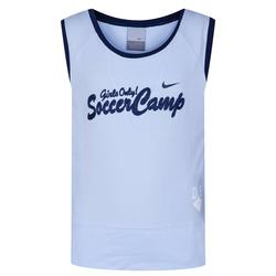 Damska koszulka sportowa bez rękawów Nike 471802-410 - 128-140
