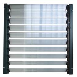 Kunststoff Lamellenfenster für alle Gewächshäuser