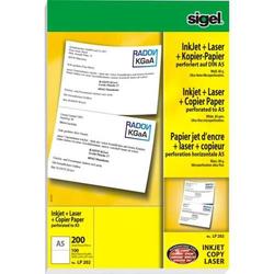 Ink/Laser/Kopier-Papier A5 (A4) 80g/qm 100 Blatt perforiert auf DIN A5