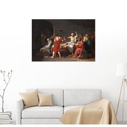 Posterlounge Wandbild, Tod des Sokrates 60 cm x 40 cm
