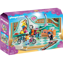 Playmobil® Spielfigur PLAYMOBIL® 9402 Bike & Skate Shop