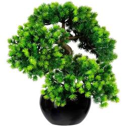 Kunstbonsai Bonsai Lärche Bonsai Lärche, Creativ green, Höhe 37 cm, im Keramiktopf