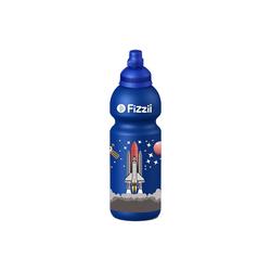Fizzii Trinkflasche FIZZII Trinkflasche Dino kiwi, 600 ml blau