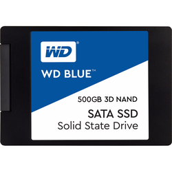 WD Blue 3D NAND, 2,5 Zoll, 500 GB