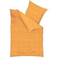 Bettwäsche Uni orange (135x200+80x80cm)