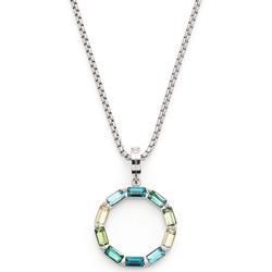 LEONARDO Kette mit Einhänger Grafica, 021371, mit Kristallglas