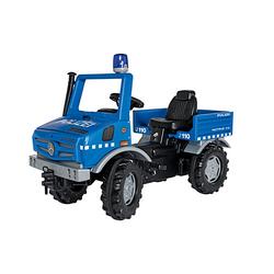 Unimog Polizei blau