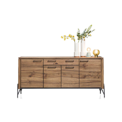 Mondo Sideboard 3059 in Wildeiche/anthrazit