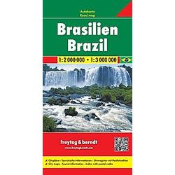 Freytag & Berndt Autokarte Brasilien; Brasil; Brazilie. Brazil. Brésil. Brasile - Buch