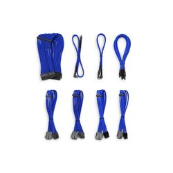 CSL Kabel Sleeve Set Computer-Kabel, SATA, (30 cm) blau