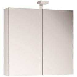 ALLIBERT Spiegelschrank , Breite 80 cm mit LED-Beleuchtung weiß