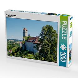 Burg Veldenstein Lege-Größe 64 x 48 cm Foto-Puzzle Bild von Thomas Becker Puzzle