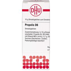 PROPOLIS D 6 Globuli 10 g
