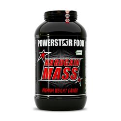 Powerstar Food - Hardgain Mass 2.0 Weight Gainer - 3600g Dose Geschmacksrichtung Erdbeere