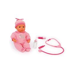 Bayer Babypuppe Puppe Doktor Set mit Funktion, 38 cm