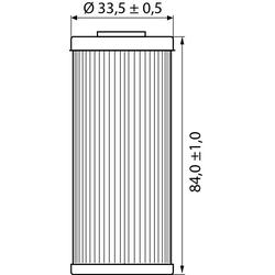 Hi-Q Ölfilter Einsatz OF652 für KTM/Husaberg/Husqvarna....