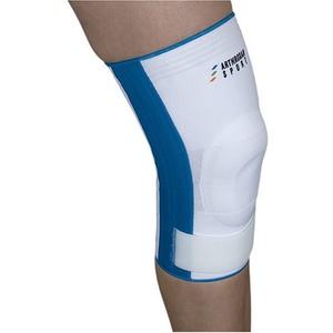 arthrosan AKVF40 Knie-Bandage mit Klettband Velcrofixierung/ weiß L