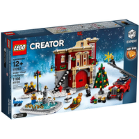 Lego Creator Expert Winterliche Feuerwache 10263