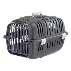 FERPLAST Jet 10 Träger für Katzen und kleine Hunde grau