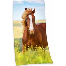 Herding Badetuch Pferd (1-St), mit Pferdemotiv