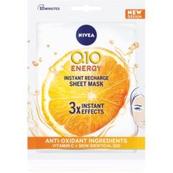 Nivea Q10 Energy Anti-Falten-Tuchmaske
