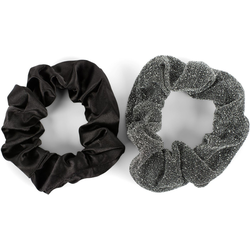 styleBREAKER Haargummi 2-Teiliges Scrunchie Haargummi Set, 2-tlg., 2-Teiliges Scrunchie Haargummi Set