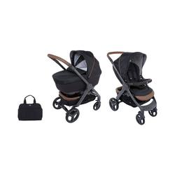 Chicco Kombi-Kinderwagen Kombi Kinderwagen Duo Stylego Up Crossover Wheels, schwarz