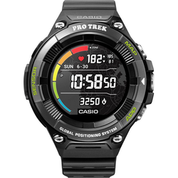 CASIO PRO TREK Smart PRO TREK Smart, WSD-F21HR-BKAGE Smartwatch (Wear OS by Google)