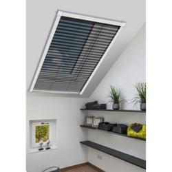 Schellenberg Insektenschutz-plissee für Dachfenster, 114 x 160 cm, weiß
