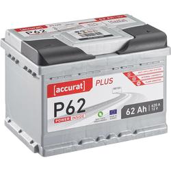 Accurat Plus P62 Autobatterie 62Ah