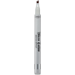 L'ORÉAL PARIS Augenbrauen-Stift Brow Artist Micro Tattoo, Langanhaltender Microblading Eyebrows Tattoo-Effekt braun
