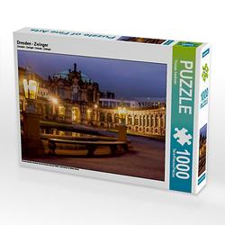 Dresden - Zwinger Lege-Größe 64 x 48 cm Foto-Puzzle Bild von Thomas Seethaler Puzzle