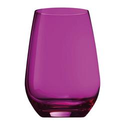 SCHOTT-ZWIESEL Becher Vina Spots 6er Set Fuchsia L, Kristallglas