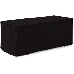 rebirthesame Garten Auflagenbox/Kissenbox Cover, Patio Deck Box Cover Outdoor Auflagenbox Cover für große Deck Boxen Schutz