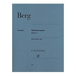 Klaviersonate op.1  Klavier. Alban - Klaviersonate op. 1 Berg  - Buch