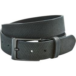 Leder-Gürtel G.O.L., schwarz, Gr. 80 cm - 80 cm - schwarz