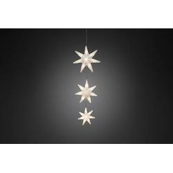 Konstsmide Lichtervorhang-Sterne Innen 24V 24 LED