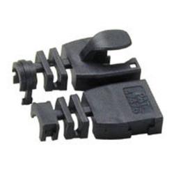 Lindy 60385 Kabelknickschutz STP/UTP, schwarz, 10er Pack