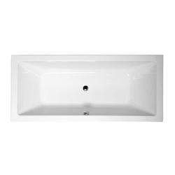 HAK Badewanne KRYSTA Badewanne mit Füßen, 180x70x39