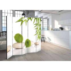 Spa Paravent im Zen Design fünf Elementen