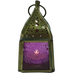 Guru-Shop Laterne Glaslaterne, Windlicht,Teelichthalter aus..
