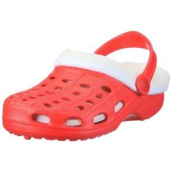 Playshoes EVA-Clogs gefüttert Baby + Kinder NEU Rot 24/25