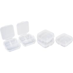 VBS Aufbewahrungsbox, Kunststoff, 4 Stück