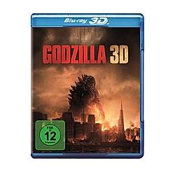Godzilla (2014) - 3D-Version - DVD  Filme
