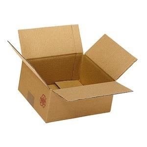20 Wellpapp-Faltkartons 2-wellig 21,3 x 21,3 x 20,8 cm