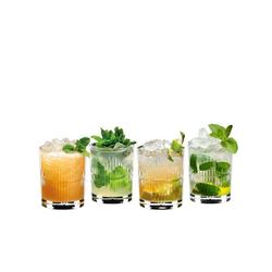 RIEDEL Glas Longdrinkglas Mixing Rum 4er-Set, Kristallglas