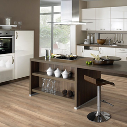 planeo Laminat medium Brown Oak - modernes Laminat in Eichenoptik