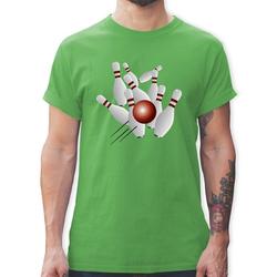 Shirtracer T-Shirt Kegeln alle 9 Kegeln Kugel - Herren Premium T-Shirt S
